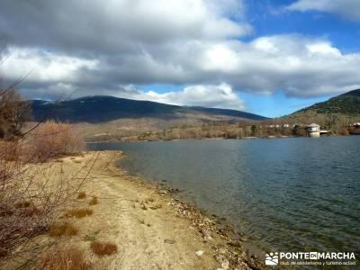 Ruta Turrón y Polvorón - Embalse Pinilla; raquetas nieve madrid senderismo guipuzcoa viajes a la i